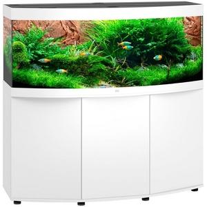 JUWEL AQUARIEN Aquarien-Set Vision 450 LED, BxTxH: 151x61x144 cm, 450 l weiß