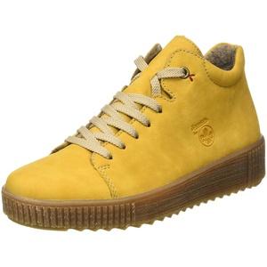 Rieker Damen M6440 Mode-Stiefel, gelb, 43 EU