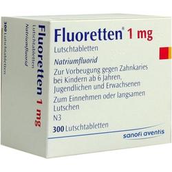 FLUORETTEN 1.0MG