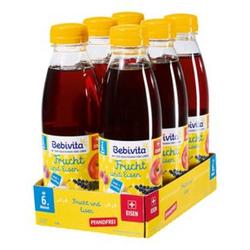 Bebivita Frucht & Eisen Saft 0,5 Liter PET, 6er Pack