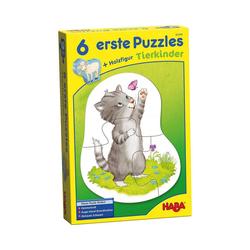 Haba Puzzle 6 erste Puzzles - Tierkinder, Puzzleteile