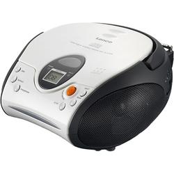 Lenco SCD-24 mit CD stereo UKW-Radio weiß