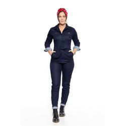 Queen Kerosin Jeans, en general las mujeres - Azul Oscuro/Negro - XL