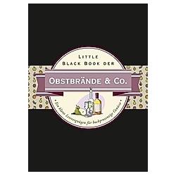 Little Black Book der Obstbrände & Co.