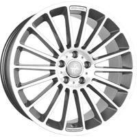 Keskin Tuning KT15 Speed palladium front polish 8x18 ET45 - LK5/112 ML66.6 Alufelge
