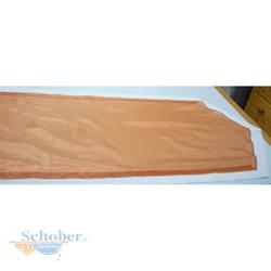 Tischläufer Läufer Tischband Tischdecke fertig genäht creme orange, 40 x 180 cm