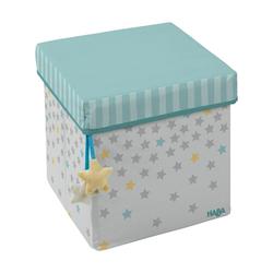 Haba Aufbewahrungsbox HABA Sitzwürfel Sternenhimmel
