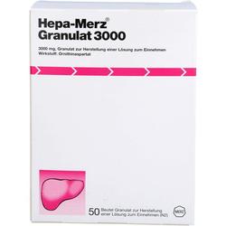 HEPA MERZ Granulat 3.000 Btl. 50 St.