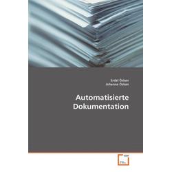 Automatisierte Dokumentation als Buch von Erdal Özkan/ Johanna Özkan
