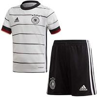adidas DFB Mini-Heimausrüstung white/black Kinder Gr. 104