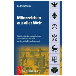 Münzzeichen aus aller Welt: Buch von Marco Jindrich