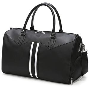 Vohoney Sporttasche Reisetasche Weekender Schwimmtasche Schultertaschen Tasche für Sport Fitness Gym Travel Bag Duffel Bag mit Schuhfach (Black Travel Bag)