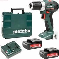 METABO PowerMaxx BS 12 BL inkl. 2 x 2,0 Ah (601038500)