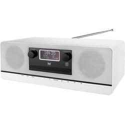 Dual DAB 420 BT Kompaktanlage (Digitalradio (DAB), UKW mit RDS, 10 W) weiß