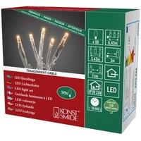 Konstsmide 6353-823 Micro-Lichterkette Innen netzbetrieben Anzahl Leuchtmittel 50 LED Bernstein Bele
