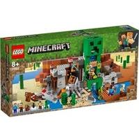 Lego Minecraft Die Creeper Mine 21155