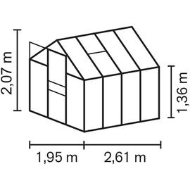 Vitavia Apollo 5000 Alu HKP 4 mm 5 m² inkl. Fundament