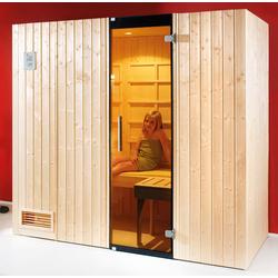 weka Infrarotkabine Alaro, BxTxH: 212 x 121 x 199 cm, 76 mm, (Set) inkl. Saunaofen