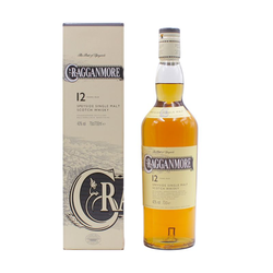 Cragganmore 12 Year Old Whisky 0,7L (40% Vol.)