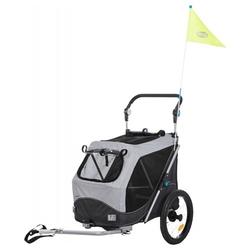 Trixie Fahrrad-Anhänger, Maße: 63 x 95 x 90/132 cm