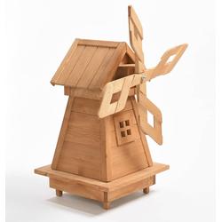 Holz Windmühle