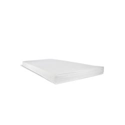 Komfortschaummatratze, Homestyle4u, 12 cm hoch, Raumgewicht: 25, Rollmatratze Schaumstoff weiß 140 cm x 200 cm x 12 cm