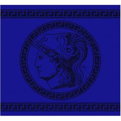 DDDDD Geschirrtuch Minerva, (Set, 6-tlg) blau