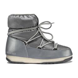 Moon Boots Low Nylon WP 2 - Moon Boots flach - Damen Grey 38 EUR