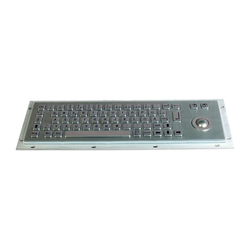 IKB-299-GT Einbau(Industrie)-Tastatur Deutsch, m. Trackball, USB, IP65