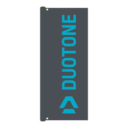 Duotone Zubehör 160 x 60 Beach Fahne Dark Grey Windfahne flag