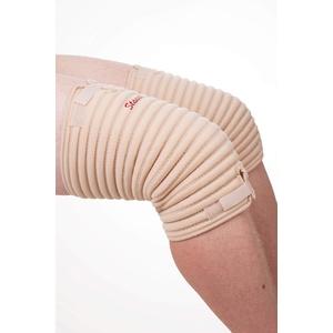 STAUDT Knie-Bandage - Größe L - gegen Gelenkschmerzen, Arthritis oder Arthrose in den Knien - nächtliche Anwendung