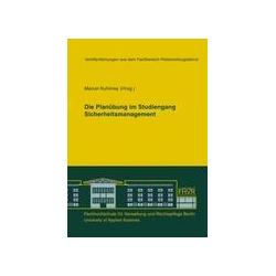 Die Planübung im Studiengang Sicherheitsmanagement als Buch von