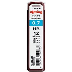 12 rotring   Bleistiftminen HB 0,7 mm