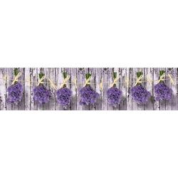 Vliestapete BLUMEN, grafisch, 250 x 60 cm