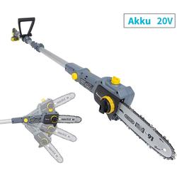 Fanztool Akku-Kettensäge FANZTOOL 20V Li-Ion Akku-Hochentaster mit 2,5Ah