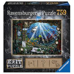 Ravensburger EXIT PUZZLE Im U-Boot Puzzle 759 Teile