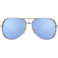 Michael Kors Chelsea MK5004 100322 rosegold/blue/blue mirrored
