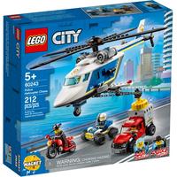Lego City Verfolgungsjagd mit dem Polizeihubschrauber 60243