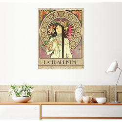 Posterlounge Wandbild, La Trappistine 70 cm x 90 cm