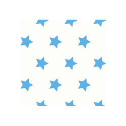 WOW Vliestapete Steine, (1 St), Blau/Weiß- 10m x 52cm