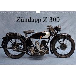 Zündapp Z 300 (Wandkalender 2021 DIN A4 quer)