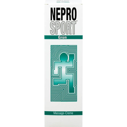 NEPROSPORT Creme grün 100 ml