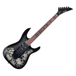 Rocktile Pro JK150F-BSK E-Gitarre Skull