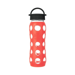 Lifefactory Trinkflasche rot