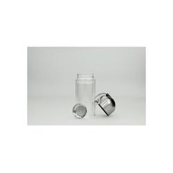 HTI-Line Trinkflasche Trinkflasche Schwarz, Trinkflasche weiß