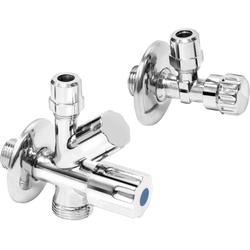 CORNAT Eckventil Geräteanschlussset, (Kombi-Set), für den Anschluss einer Wasch- oder Spülmaschine
