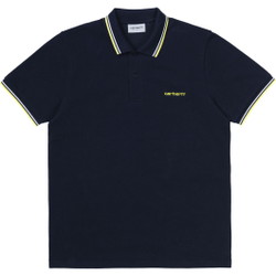 Carhartt Wip - S/S Script Embroider - Poloshirts - Größe: M