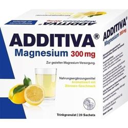 ADDITIVA Magnesium 300 mg N Pulver 20 St.