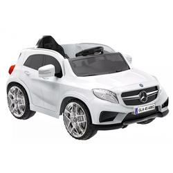 Elektroauto Biker Spielzeug Mercedes GLA 45 Weiß