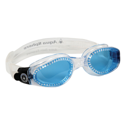 Aqua Sphere Schwimmbrille KAIMAN SMALL getöntes Glas farblos Ausrüstung Schwimmen Sportarten
